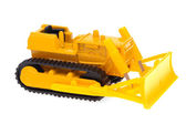 Toy bulldozer — Stock Photo