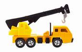 Toy truck crane — Stock Photo