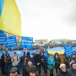 Mass protests in Ukraine (Kharkiv) — Lizenzfreies Foto