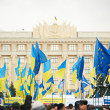 Mass protests in Ukraine (Kharkiv) — Stock Photo