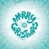 Merry Christmas сard — Stock Vector