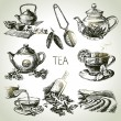 Tea set — Stock Vector #42063617