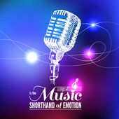 Fundo de música. — Vetorial Stock