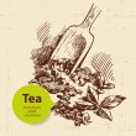Tea vintage background — Stock Vector #44973369