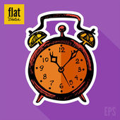 Alarm clock — Stock Vector