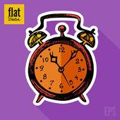 Alarm clock — Stock Vector