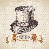 Gentleman accessory. — Stock Vector