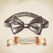 Gentleman accessory. — Stock Vector