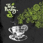 Tea vintage background. — Stock Vector #50303979