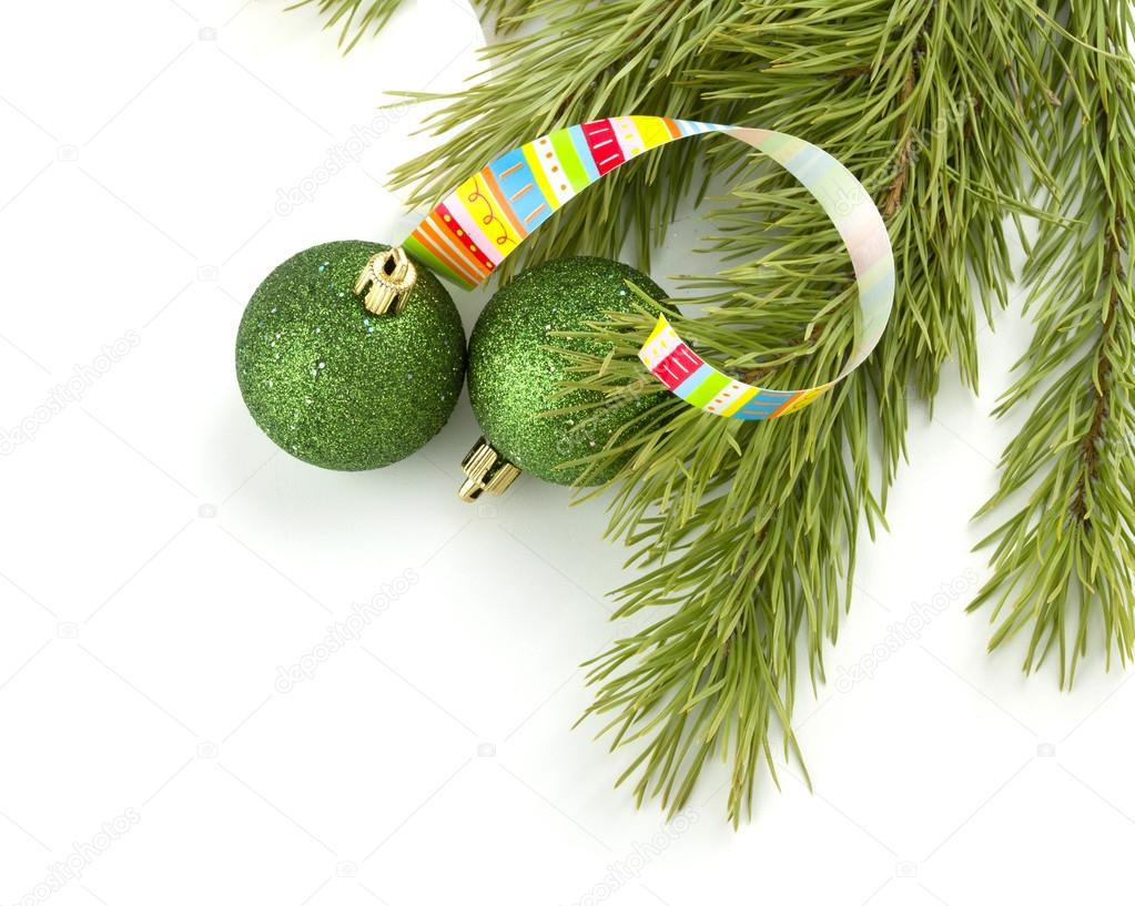 Christmas decoration. Isolated on white background — Stock Photo #12570098