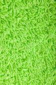 Textura de toalla verde — Foto de Stock