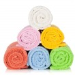Colorful towels — Stock Photo #14404589