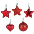 Christmas baubles and decor — Stock Photo #14776793