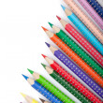 Various color pencils — Stock Photo