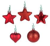 рождественские безделушки и декор — Стоковое фото