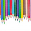 Various colour pencils — Stock Photo #15394767