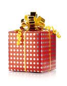 Christmas gift box — Stockfoto