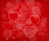 Valentine's day abstract background — Stock fotografie