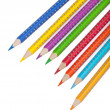 Various colour pencils — Stock Photo #16918333