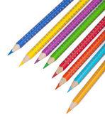 Various colour pencils — Stock Photo