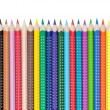 Stock Photo: Various colorful pencils