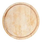 圆形菜板 — 图库照片