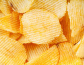 Potato chips closeup — Stock Photo