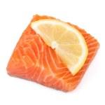 Salmon piece — Stock Photo #23182706