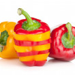 Ripe colorful bell peppers — Stock Photo #24443537