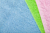 Colorful towels background — Foto Stock
