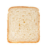 White bread slice — Stock Photo