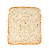 White bread slice — Stock Photo