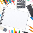 Stock Photo: School and office tools