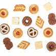 Various cookies - Stockfoto
