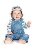 Small cute baby boy — Stock Photo