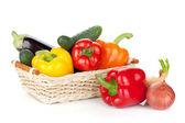 Fresh ripe vegetables — Stock Photo