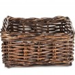 Empty wicker basket — Stock Photo #26962691