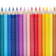 Various colorful pencils — Stock Photo