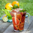 Foto de Stock  : Refreshing fruit sangri(punch)