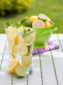 Homemade limonade — Stock Photo
