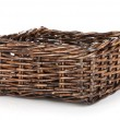 Empty wicker basket — Stock Photo #30029147