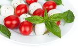 Salade caprese — Stockfoto