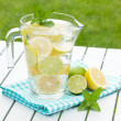 Stock Photo: Homemade lemonade