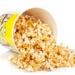 Popcorn box — Stock Photo