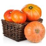 Ripe small pumpkins — Stock Photo #32171929
