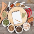 Colorful herbs and spices selection — Stock Photo #32786591