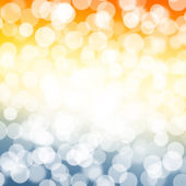 Blurred bokeh nature background — Stock Photo