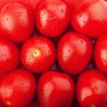 Fresh ripe cherry tomatoes — Stock Photo