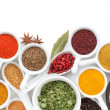 Various spices selection — Stock Photo #36013297