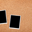 polaroid photo frames — Stock Photo